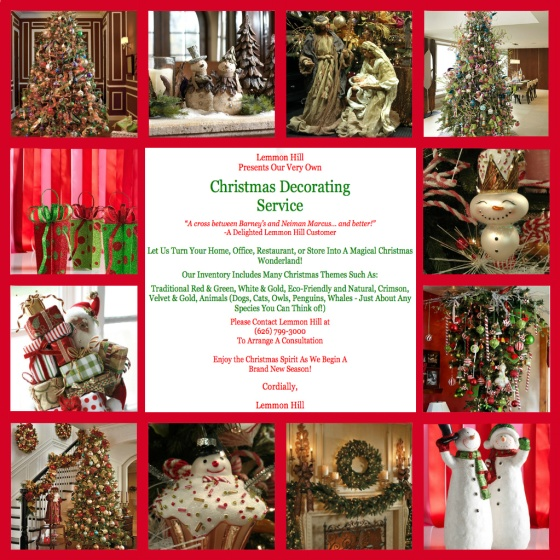 Lemmon Hill Holiday Decorating Services