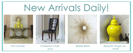 New Arrivals Launch
